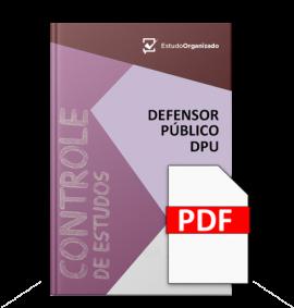 Edital Esquematizado DPU